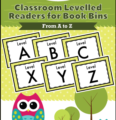 Classroom Levelled Readers Book Bins