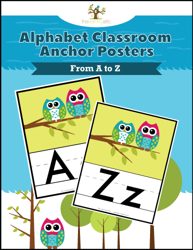 Alphabet Classroom Anchors Posters