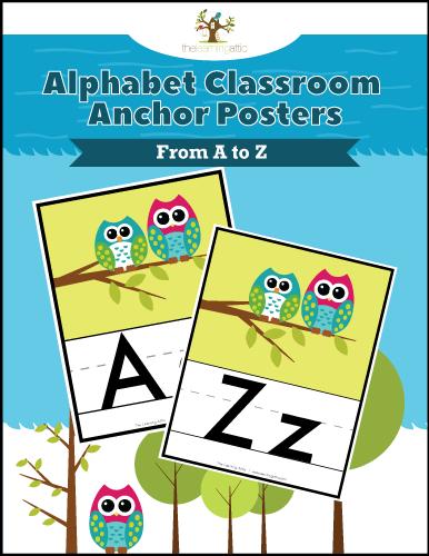 Alphabet Classroom Anchors Posters