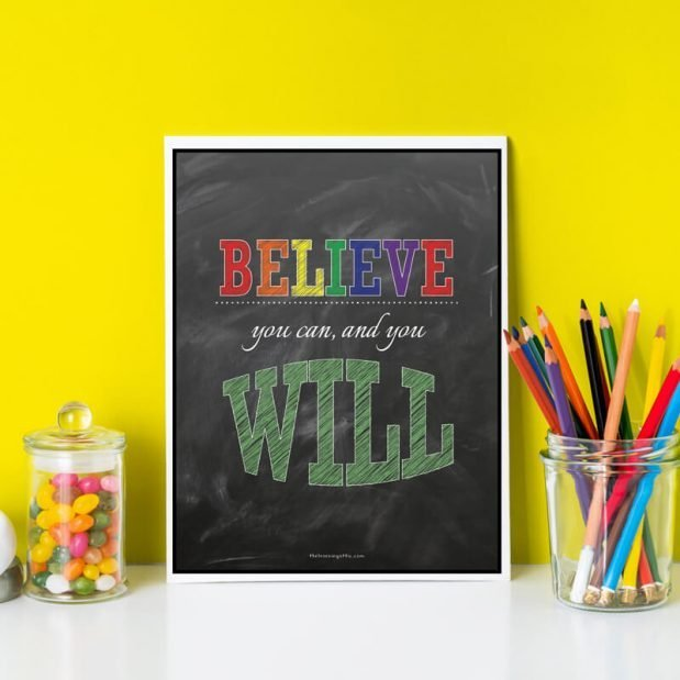 Inspirational Posters - Believe You Can